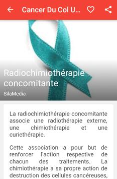 Cancer Du Col Utérin apk screenshot