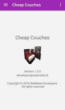 Cheap Couches apk screenshot