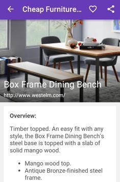 Cheap Furniture Online apk screenshot