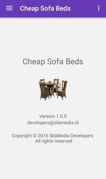 Cheap Sofa Beds apk screenshot
