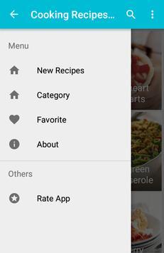 Cooking recipes healthy apk screenshot