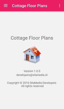 Cottage Floor Plans apk screenshot
