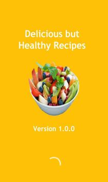 Delicious But Healthy Recipes poster