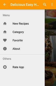 Delicious Easy Healthy Recipes apk screenshot