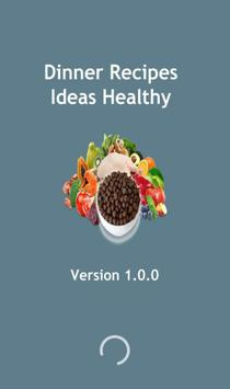 Dinner Recipes Ideas Healthy poster