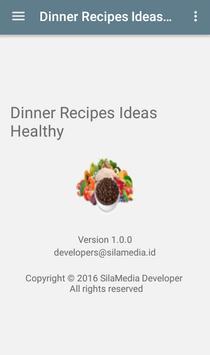 Dinner Recipes Ideas Healthy apk screenshot