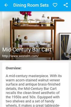 Dining Room Sets apk screenshot