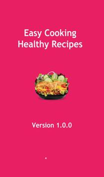 Easy Cooking Healthy Recipes poster