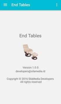 End Tables apk screenshot
