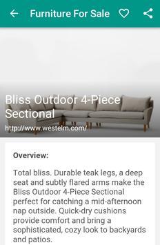 Furniture For Sale apk screenshot