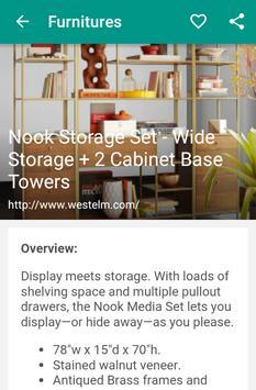 Furnitures apk screenshot