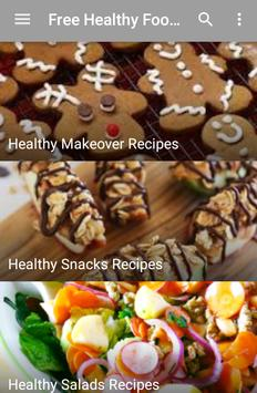 Free Healthy Food Recipes apk screenshot
