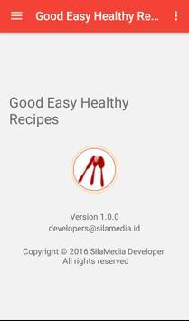 Good Easy Healthy Recipes apk screenshot
