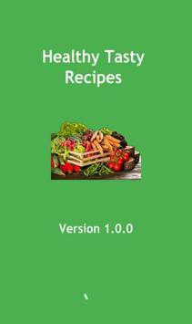 Healthy Tasty Recipes poster