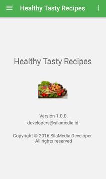 Healthy Tasty Recipes apk screenshot