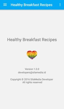 Healthy Breakfast Recipes apk screenshot