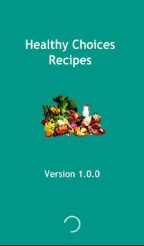 Healthy Choices Recipes poster