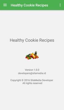 Healthy Cookie Recipes apk screenshot