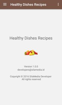 Healthy Dishes Recipes apk screenshot