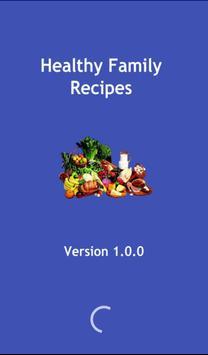 Healthy Family Recipes poster
