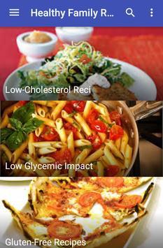Healthy Family Recipes apk screenshot