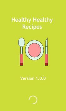 Healthy healthy recipes poster