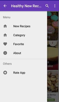Healthy new recipes apk screenshot
