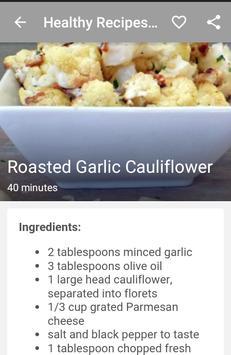 Healthy Recipes Online apk screenshot