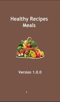 Healthy Recipes Meals poster