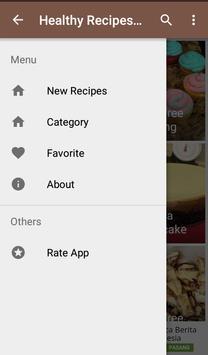 Healthy Recipes Meals apk screenshot