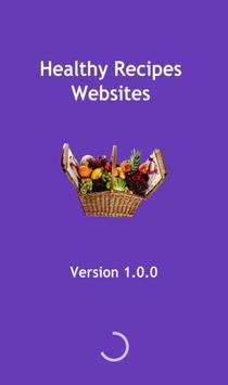 Healthy Recipes Websites poster