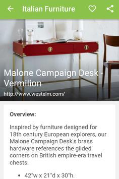 Italian Furniture apk screenshot