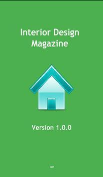 Interior Design Magazine poster