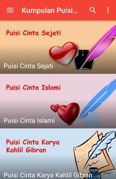 Kumpulan Puisi Cinta apk screenshot