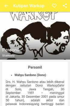 Kutipan Warkop apk screenshot