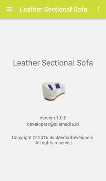 Leather Sectional Sofa apk screenshot