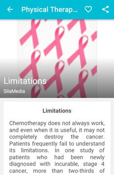 Physical Therapy Breast Cancer apk screenshot