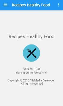 Recipes Healthy Food apk screenshot
