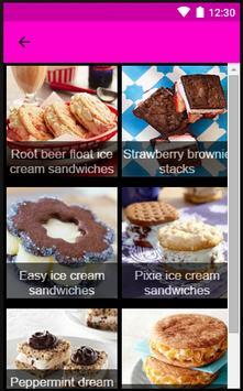 Recipes Ice Cream apk screenshot