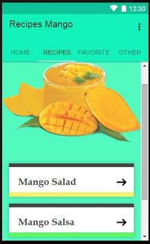 Recipes Mango apk screenshot