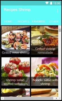 Recipes Shrimp apk screenshot
