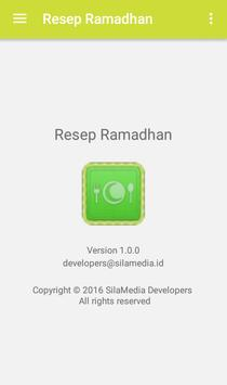 Resep Ramadhan apk screenshot