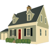 2 Bedroom House Plans icon