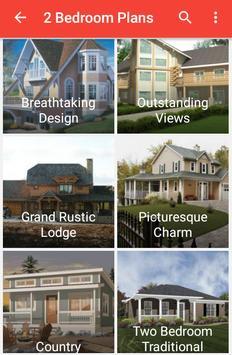 2 Bedroom House Plans apk screenshot