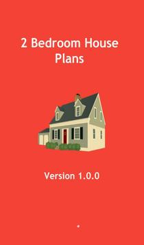 2 Bedroom House Plans poster