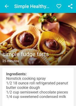 Simple Healthy Recipes apk screenshot