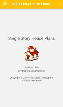 Single Story House Plans apk screenshot