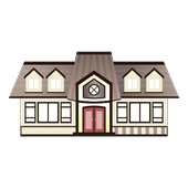 Small house floor plans icon