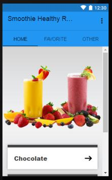 Smoothie Healthy Recipes poster
