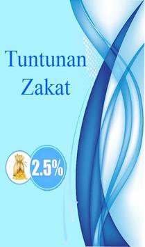 Tuntunan Zakat poster